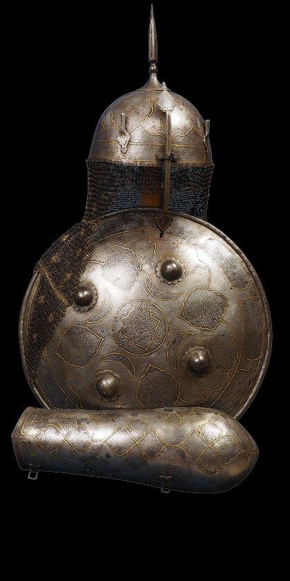 Qajar Persian Set of Armor
